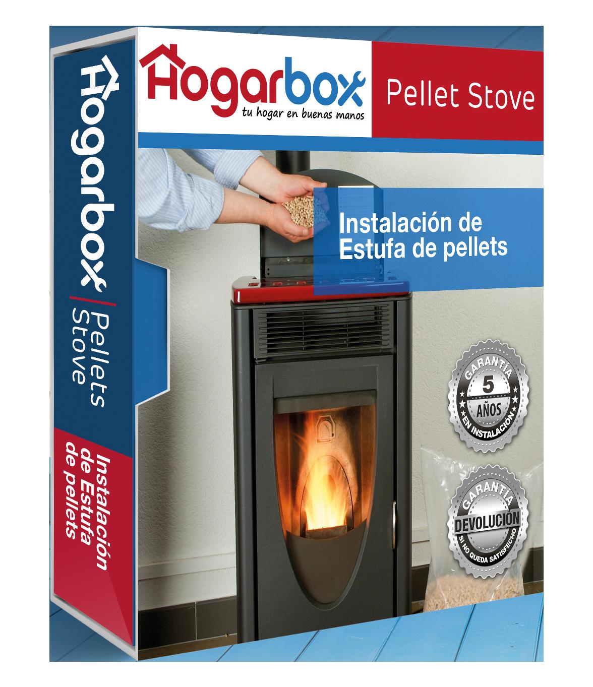 Hogarbox pellet stove instalaci n de estufa de pellets - Instalacion estufas pellets ...