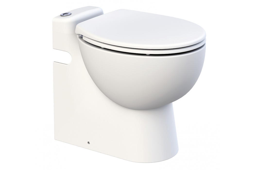 Inodoro con triturador incorporado sfa sanicompact pro for Inodoro triturador opiniones