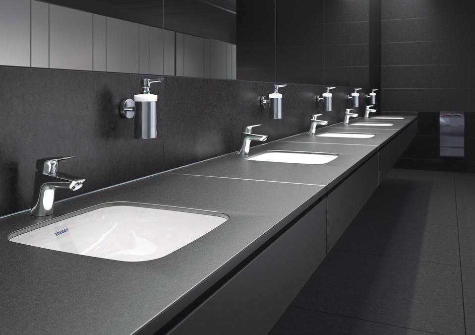 grifo hansgrohe lavabo logis 70. Black Bedroom Furniture Sets. Home Design Ideas