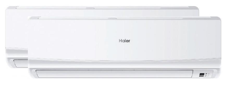 Aire acondicionado multi split 2x1 haier geos 9 12 for Aire acondicionado haier precios
