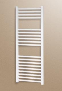 Radiador toallero de acero cicsa zeta x 770x550 blanco for Precio radiador toallero