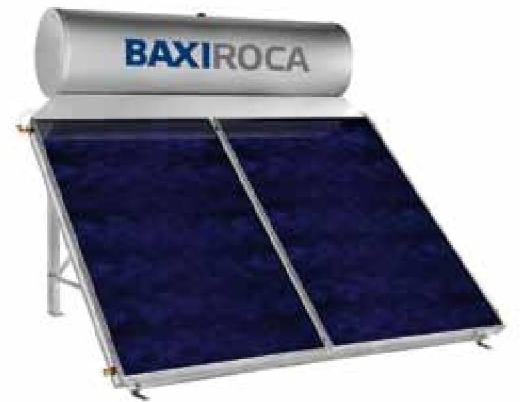 Sistema solar termosif n baxi sts 300 para cubierta plana for Baxi roca catalogo