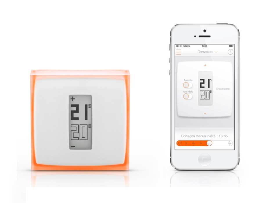 Termostato inteligente Netatmo para Smartphone
