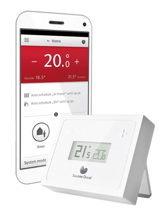 Termostato wifi modulante saunier duval migo for Termostato caldera wifi