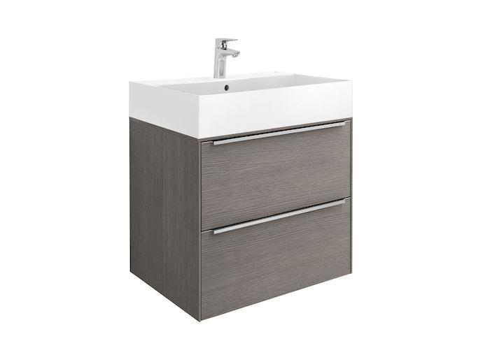 Unik mueble base y lavabo roca inspira 600 mm for Muebles lavabo roca