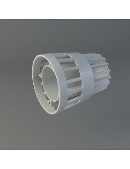 Terminal coaxial corto 60/100 Fig
