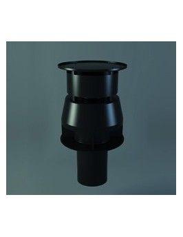 Terminal coaxial vertical corto de polipropileno 60x100 Fig