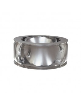 Adaptador de caldera doble inox 304-304 100/150 Practic