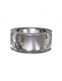 Adaptador de caldera doble inox 316-304 125/175 Practic