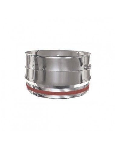 Tramo recoge-condensados pared simple inox 304 130 Practic