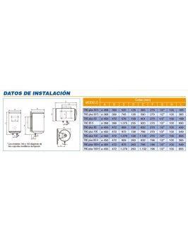 Termo El/éctrico Cointra TNCPLUS80