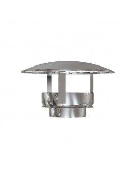 Sombrerete doble inox 316-304 175/225 Practic