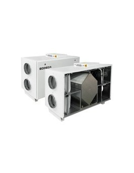 Recuperador de calor Sodeca RIS-1200-H-EKO-S-K-F7