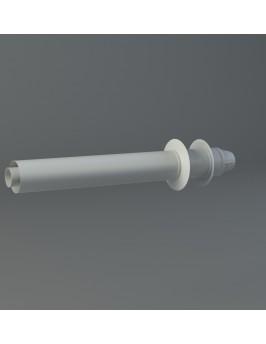 Tramo terminal coaxial horizontal 60/100 Fig
