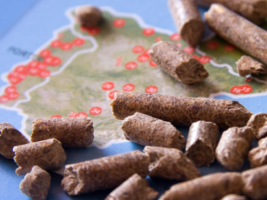 El pellet se consolida en España