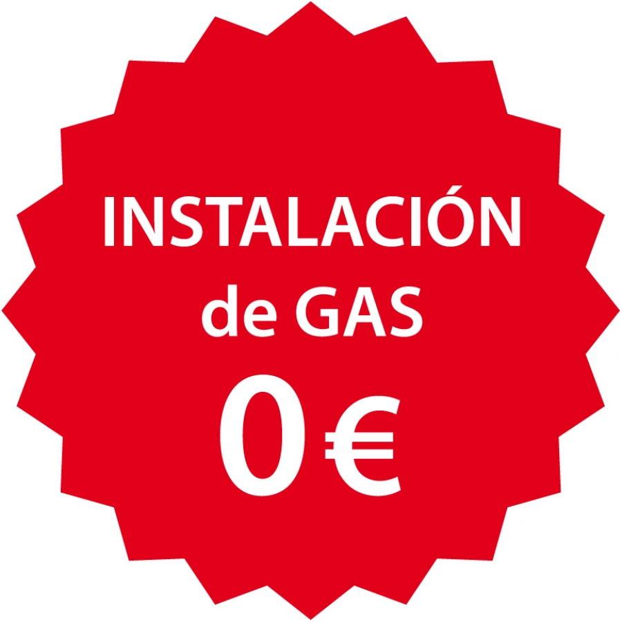 Instalación de gas natural gratis