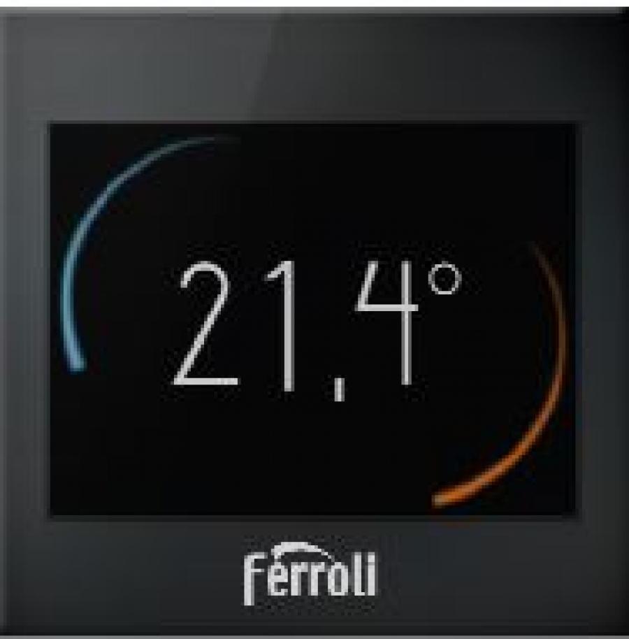 Nuevo cronotermostato Ferroli inteligente Wi-Fi