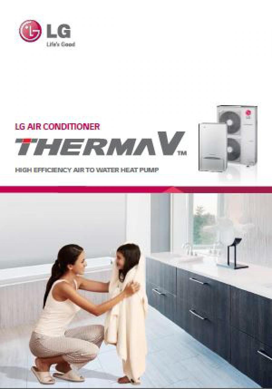 Nueva gama de aerotermia Therma V de LG