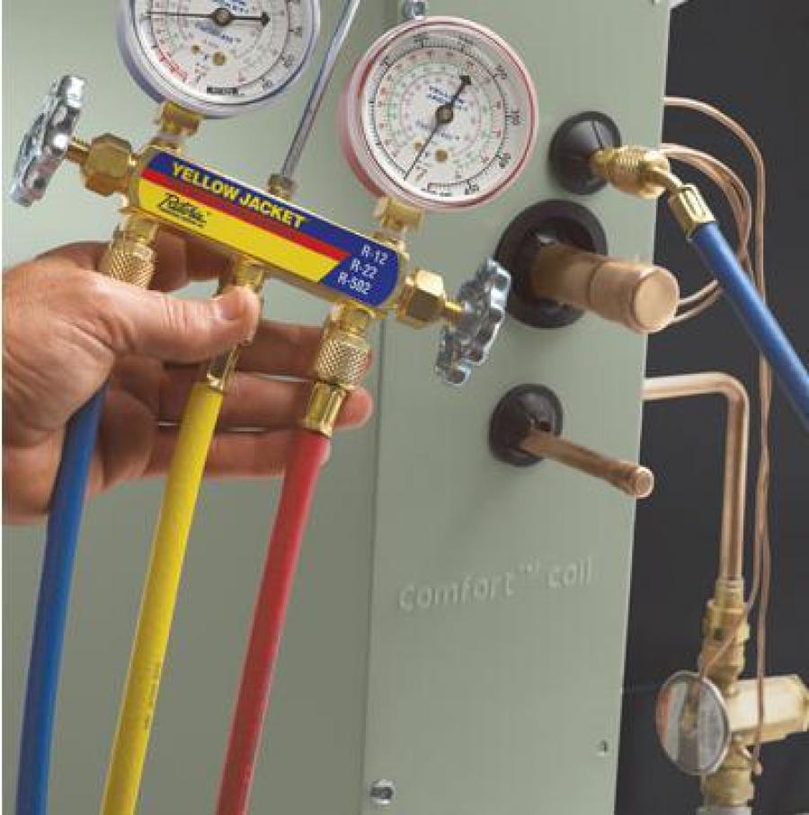Revisión, Limpieza y Recarga de Gas del Aire Acondicionado