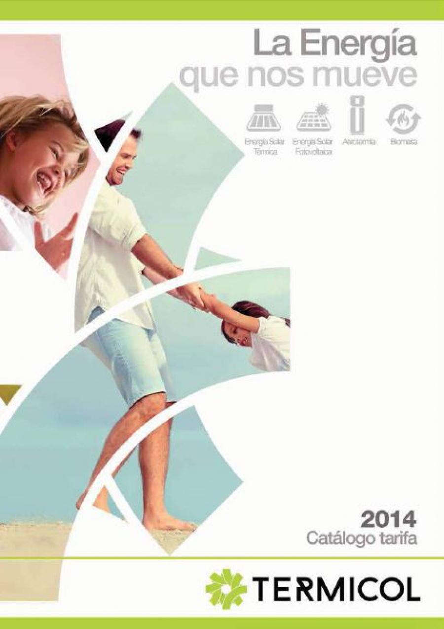 Termicol. Catálogo y Tarifa 2015