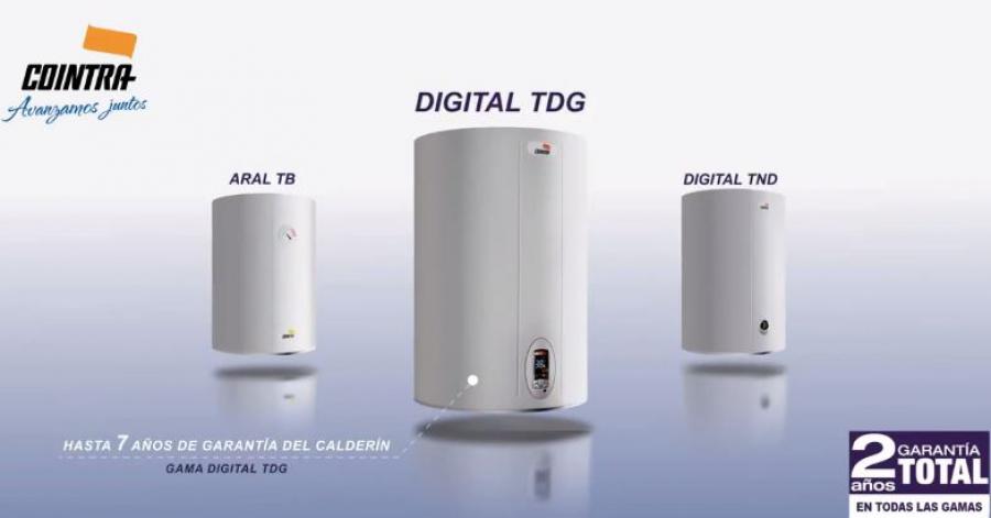 Nuevos termos eléctricos Cointra: TDG, TND y TB