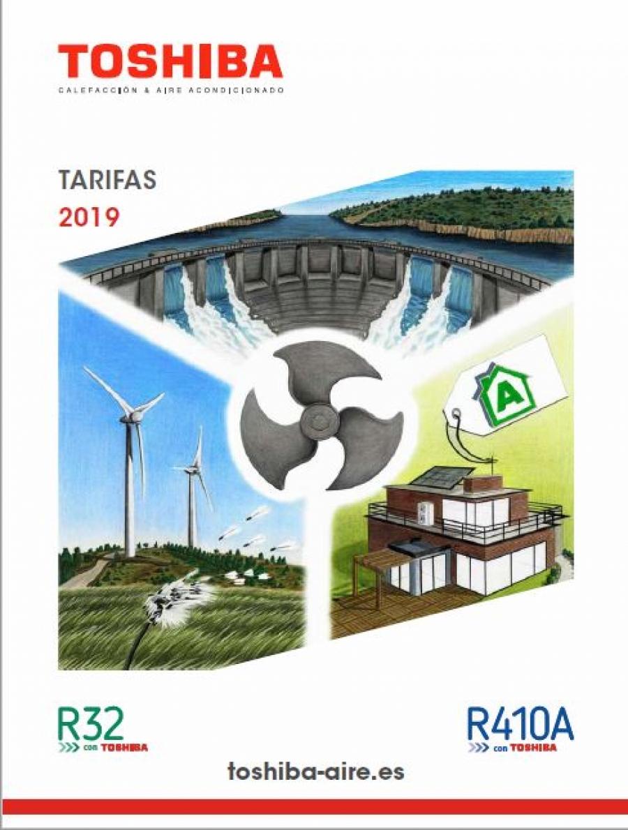 Tarifa Climatización y Aire Acondicionado Toshiba 2019