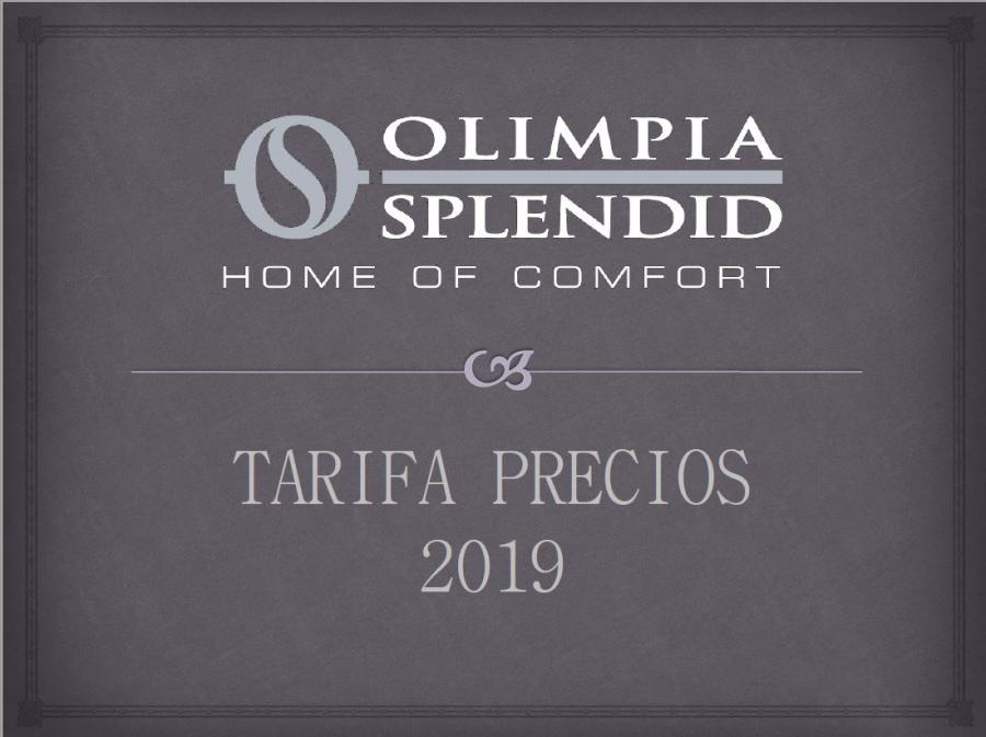 Tarifa Climatización y Calefacción Olimpia Splendid 2019