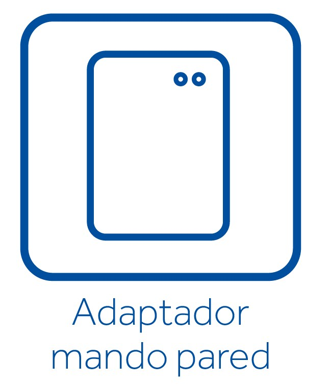 Adaptador de pared