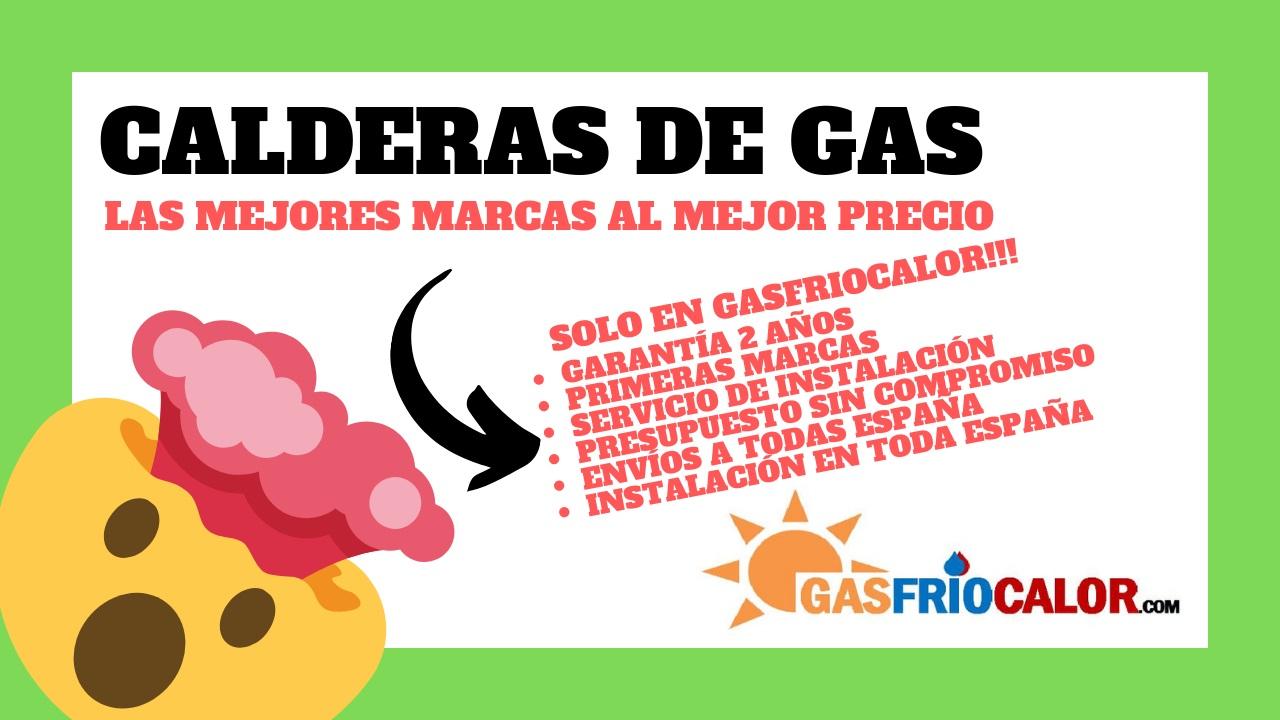 CALDERAS DE GAS las mejores marcas al mejor precio