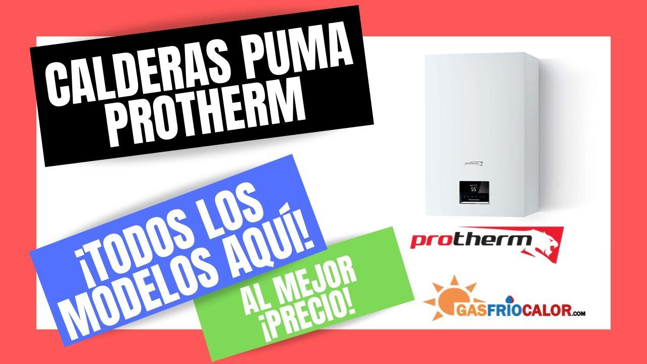 CALDERAS PUMA PROTHERMA Mejor PRECIO online