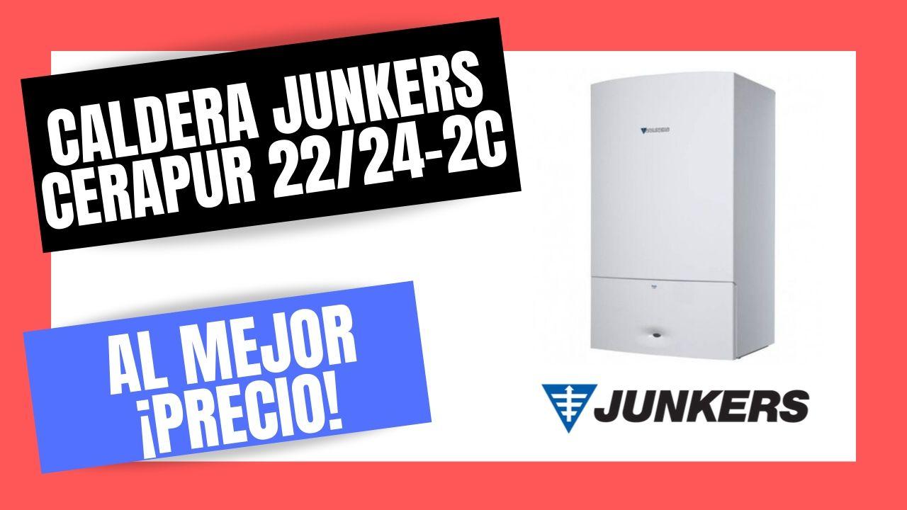 CALDERA JUNKERS CERAPUR ZWBC 24-2c El Mejor PRECIO Online