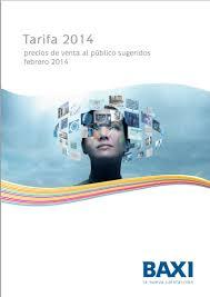 Catalogo Baxi 2014