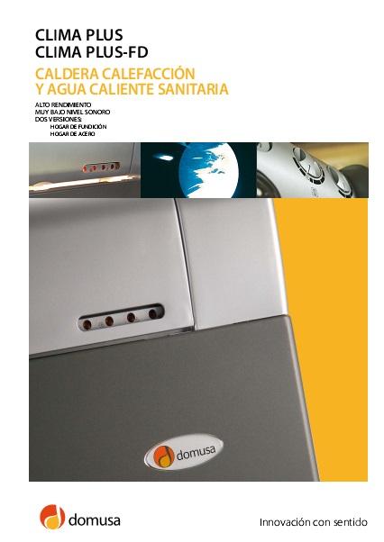 Catalogo Caldera Domusa CLIMA PLUS