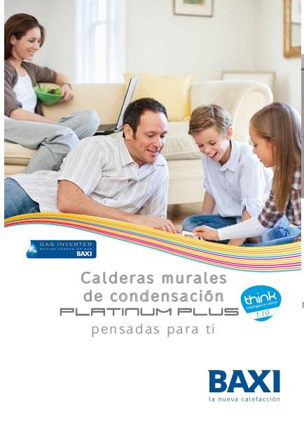 Catalogo Calderas Baxi Platinum Max Plus