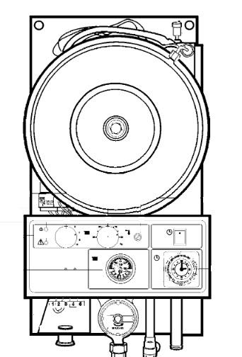 Interior Caldera eléctrica BaxiRoca CML