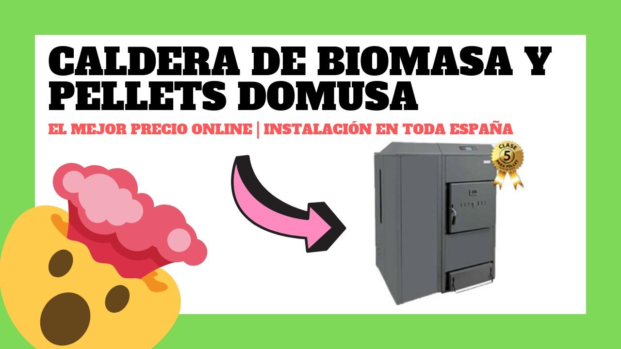 Calderas de Biomasa y Pellets DOMUSA, precios y ofertas.
