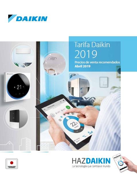 Catálogo Daikin 2019 Actualizado