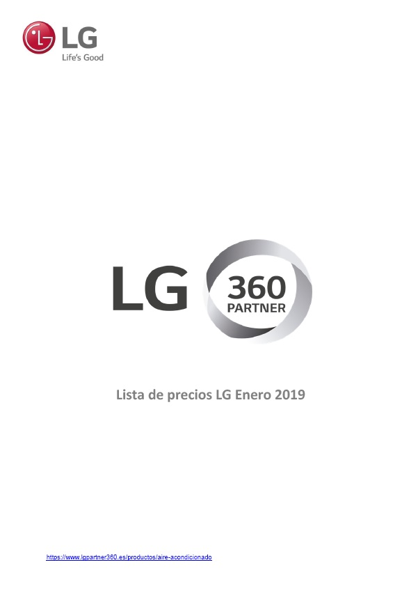 Catálogo LG 2019