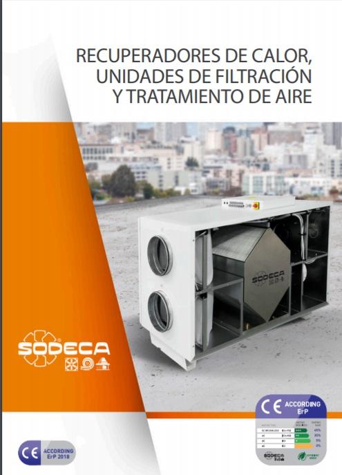 Catálogo Recuperadores Sodeca 2018