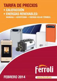 Catalogo Ferroli