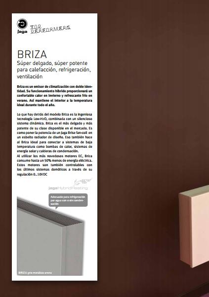 Catalogo comercial Jaga Briza