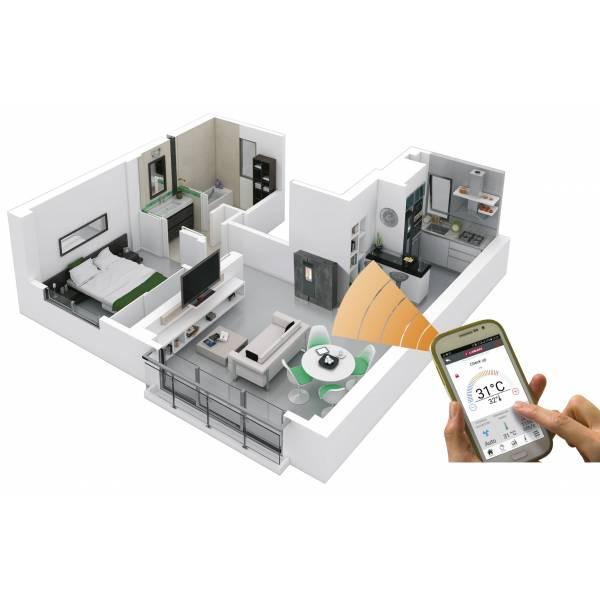 Control Wifi para estufas y calderas Lasian