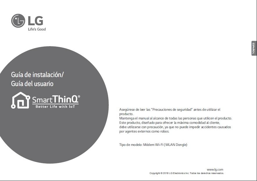 Manual de usuario LG Smart ThinQ