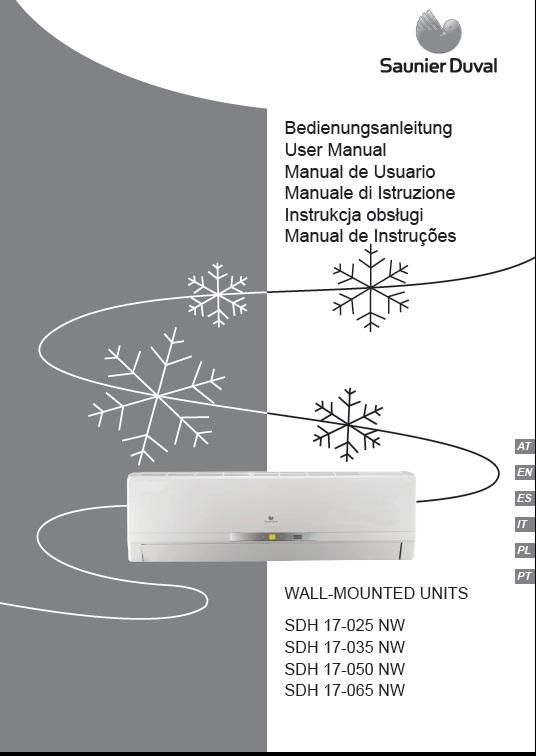 Manual de Uso Split SDH17