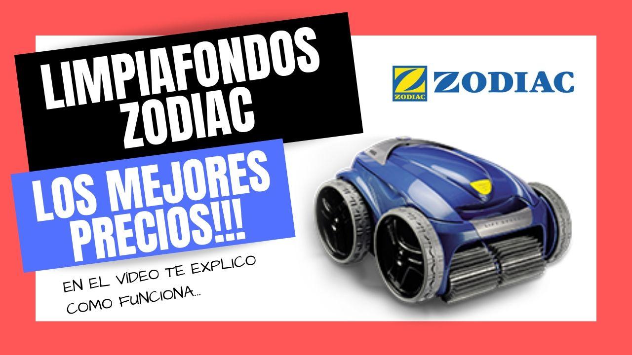 ROBOT LIMPIAFONDOS PARA PISCINAS ZODIAC | Mejor PRECIO Online