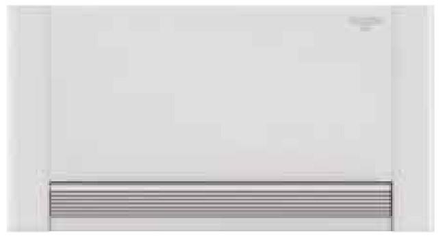 Radiadores Aquarea Air. Fan Coil para aplicación en bomba de calor para Aquarea y VRF