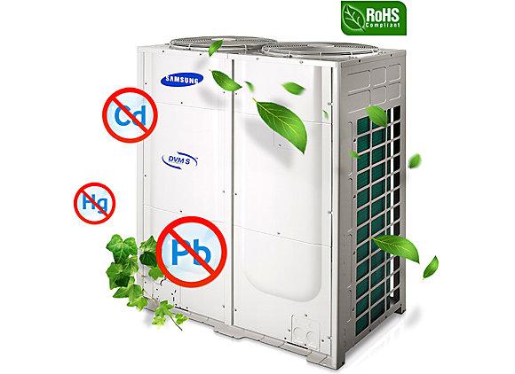 Recuperador de calor Samsung DVM S Premium mayor eficiencia