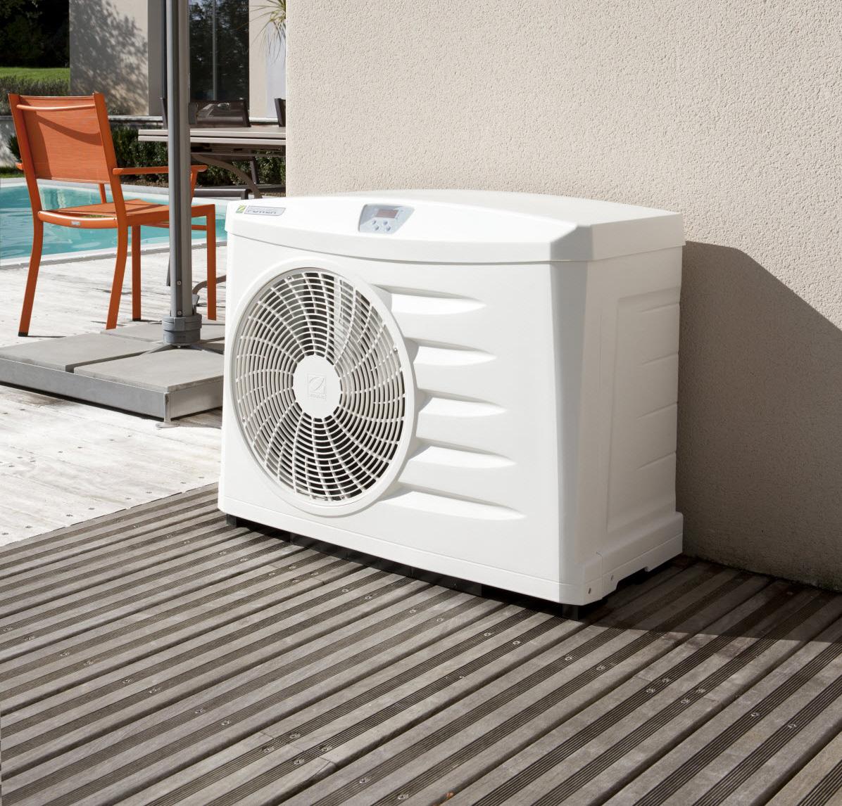 bombas de calor para piscinas precios y venta. Black Bedroom Furniture Sets. Home Design Ideas