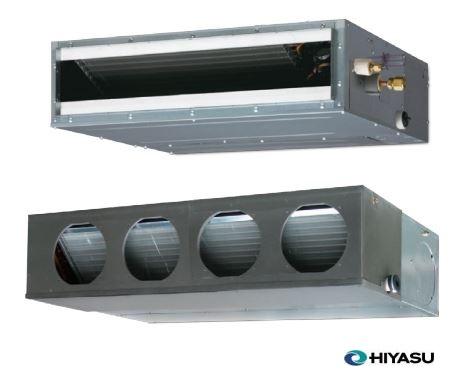 aire acondicionado conductos hiyasu