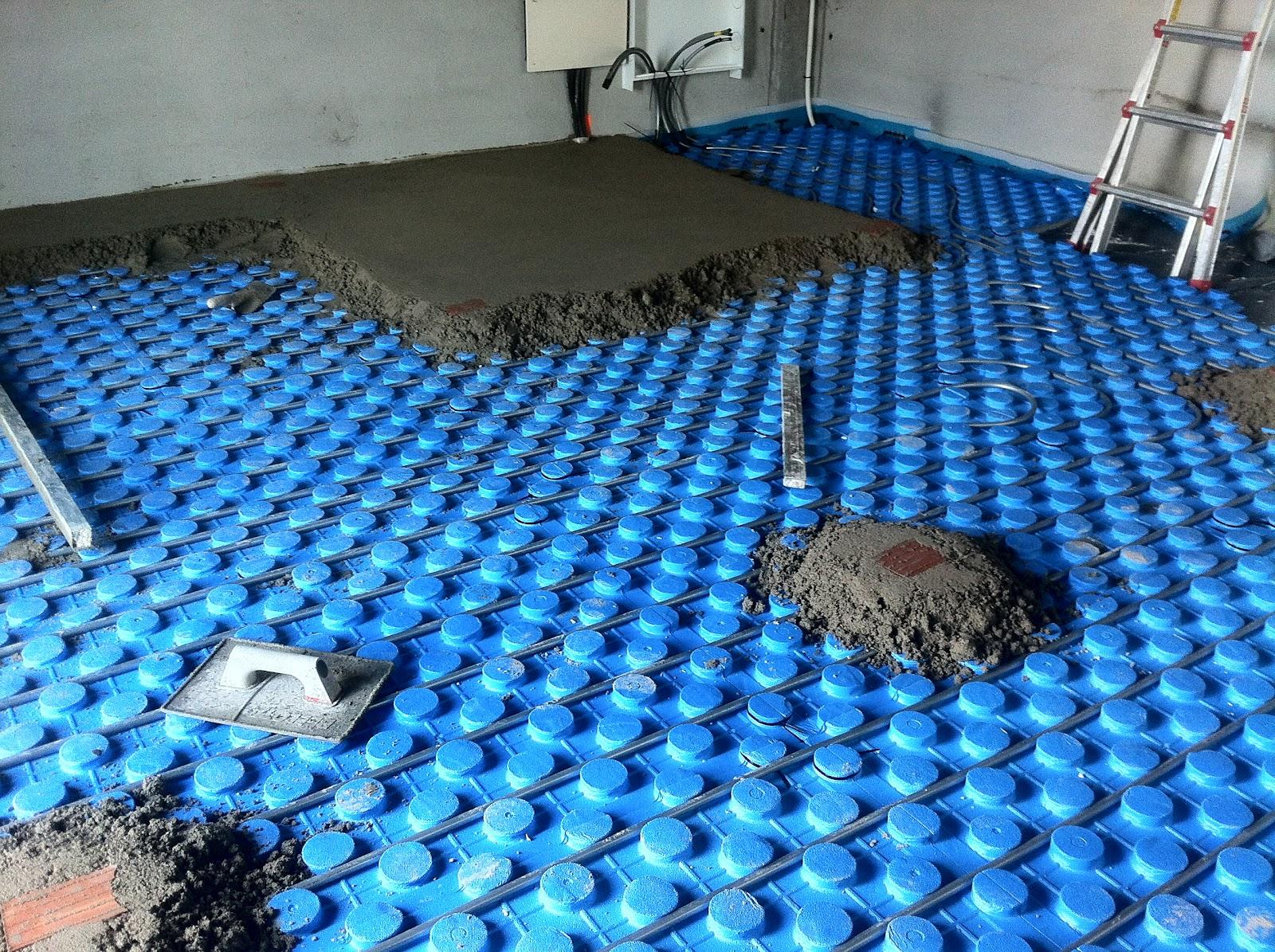 Calefacci n por suelo radiante precios e instalaci n - Radiadores de pared electricos ...